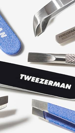 Tweezerman's New Arrivals for 2021 featuring new tweezer patterns and manicure tools.
